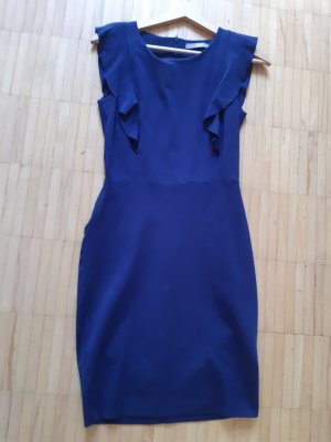 Jake*s Flounce Dress dark blue