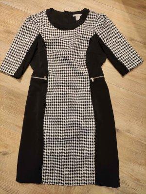 H&M Sheath Dress black-white