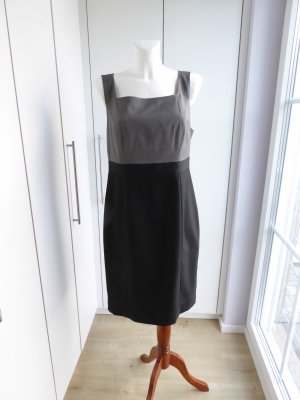 Anastacia by s.Oliver Robe fourreau noir-gris viscose