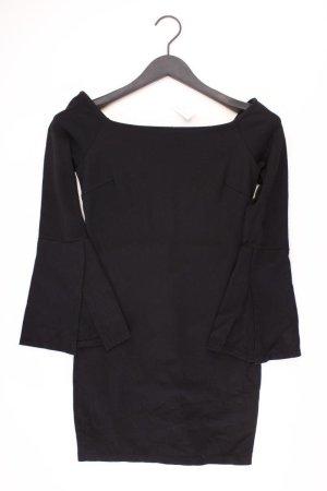 Etuikleid Größe S Langarm schwarz aus Kunstseide