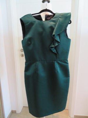 Etuikleid gruen Abendkleid  Zara Kleid