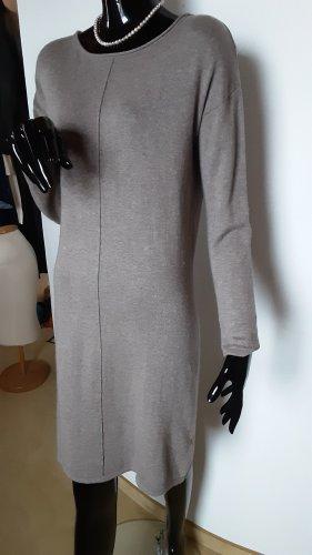 Vestido de lana marrón claro