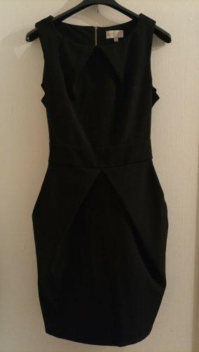Apricot Sheath Dress black polyester