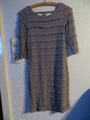 Sheath Dress dark grey-grey cotton