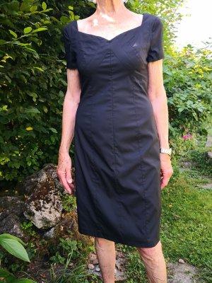 Barbara Schwarzer Robe fourreau noir polyester