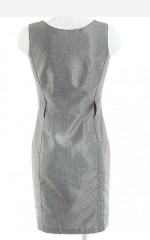 Calvin Klein Sukienka etui srebrny-jasnoszary