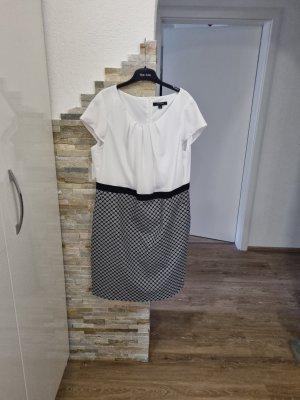 Comma Sheath Dress white-dark blue