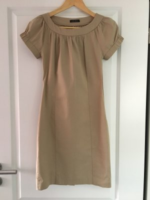 Divina Sheath Dress beige cotton