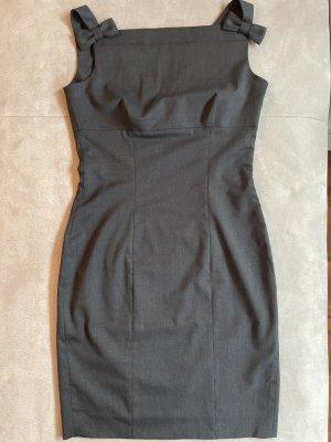 Dsquared Robe en laine gris foncé-gris anthracite laine