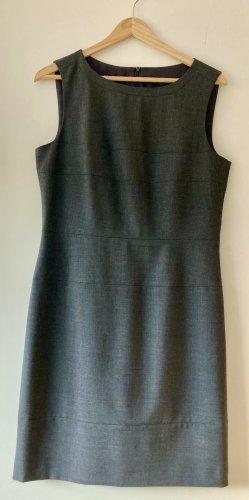 Marc Aurel Sheath Dress anthracite wool