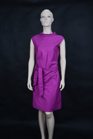 Windsor Robe fourreau violet-rose tissu mixte