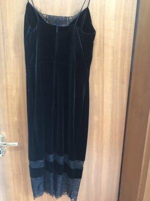 Dorothy Perkins Koronkowa sukienka czarny Aksamit
