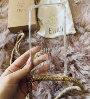 Etuui Mobile Phone Case light brown-natural white