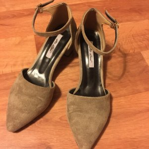 Alto Spinel Chaussures Mary Jane gris brun
