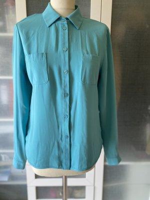Eugen Klein Long Sleeve Blouse turquoise