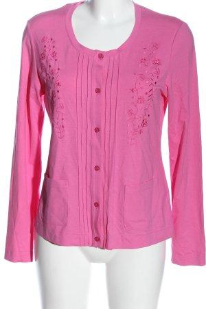 Eugen Klein Cardigan rosa stile casual