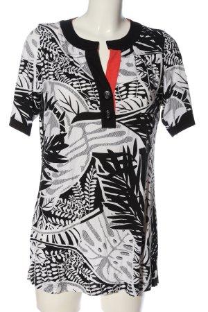 Eugen Klein Short Sleeved Blouse allover print casual look