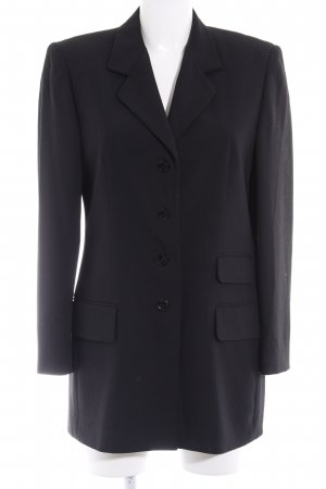 Eugen Klein Long-Blazer schwarz Business-Look