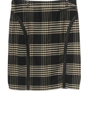 Eugen Klein Midi Skirt black-cream casual look