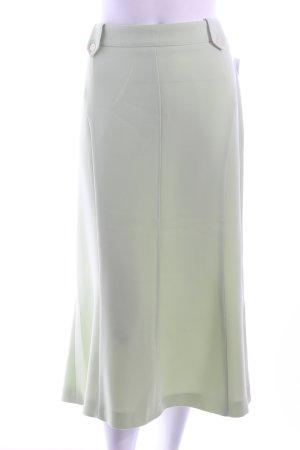 Eugen Klein Midirock blassgrün schlichter Stil