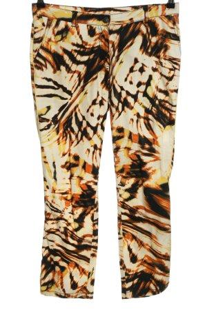 Eugen Klein Jersey Pants allover print casual look