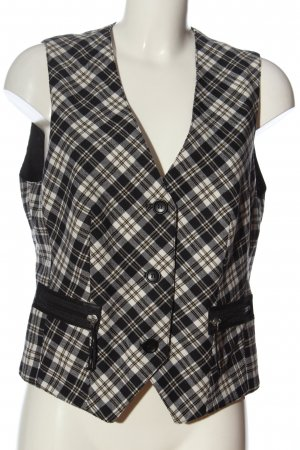 Eugen Klein Knitted Vest check pattern casual look