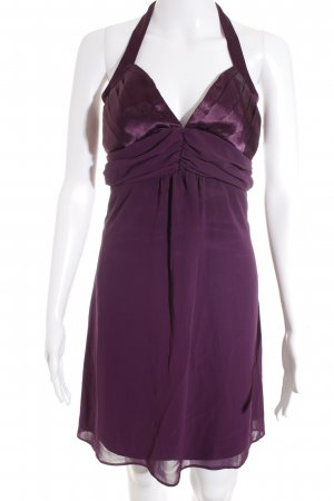 Eureka Chiffonkleid dunkelviolett Elegant