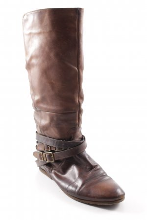 euro- star Riding Boots brown rider style