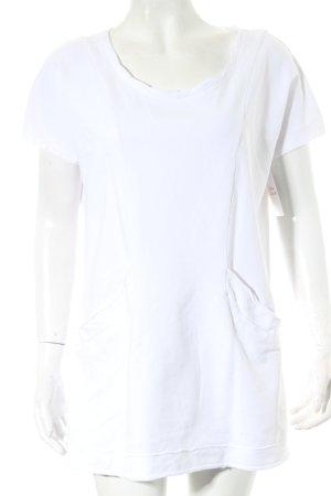 European Culture Shirt weiß Casual-Look