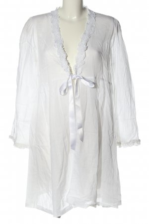 Eva B.Bitzer Dressing Gown white casual look