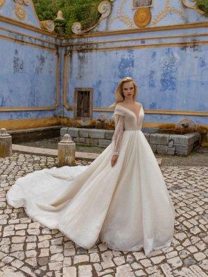 Eva Lendel Abito da sposa bianco