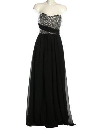 Eva & Lola Abendkleid schwarz-silberfarben Elegant