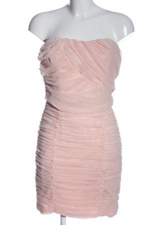 Eva & Lola schulterfreies Kleid pink Elegant
