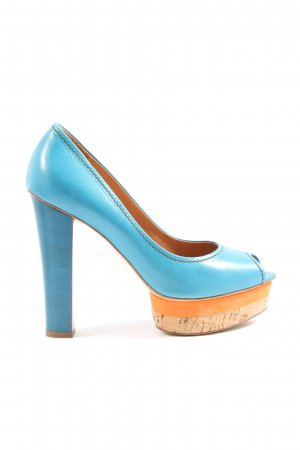 Eva Turner Peeptoe Pumps