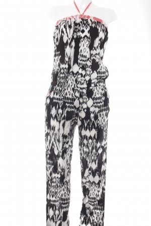 Evaw Wave Jumpsuit abstraktes Muster Casual-Look