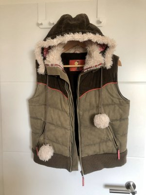 Evaw Wave Hooded Vest multicolored