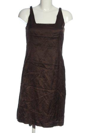 Evelin Brandt Berlin Mini Dress brown casual look