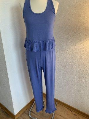 Even & Odd Pyjama staalblauw-korenblauw