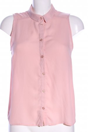 Even & Odd Blusa sin mangas rosa look casual