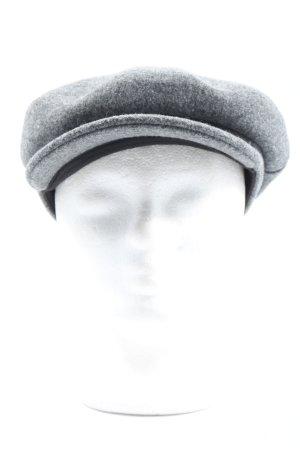 Even & Odd Cappello da panettiere grigio chiaro puntinato stile casual