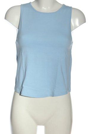 Even & Odd Basic Top blau Casual-Look