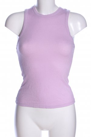 Even & Odd Basic Top pink striped pattern casual look