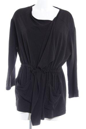 Even & Odd Giacca a blusa nero stile casual
