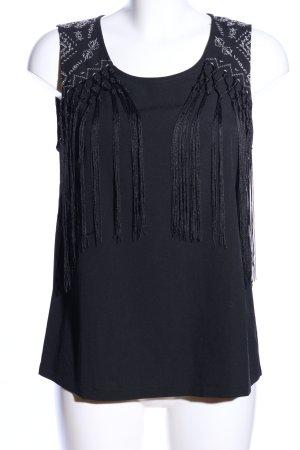 Even & Odd Blouse Top black elegant