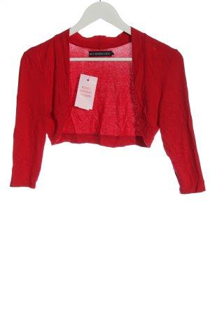 Even & Odd Bolero red casual look