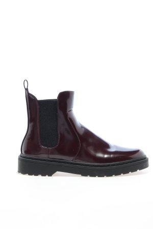 Even & Odd Chelsea laarzen rood casual uitstraling