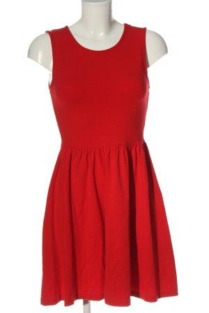 Even & Odd Abito linea A rosso stile casual