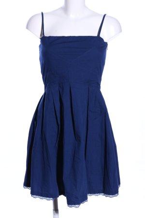 Even & Odd Cocktailkleid blau Casual-Look