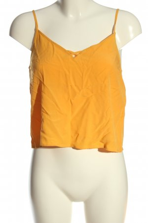 Even & Odd Cropped Top hellorange Casual-Look