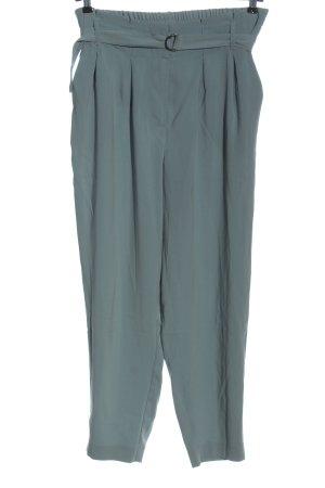 Even&Odd Curvy Pantalon «Baggy» bleu style d'affaires